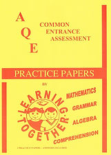 AQE Practice papers cover