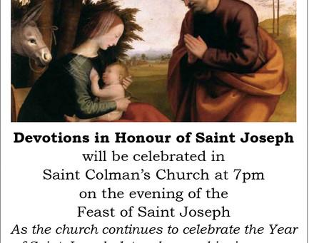 Devotions in Honour of Saint Joseph