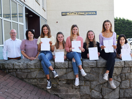 St Mary's High School Celebrate 'A' Level Success
