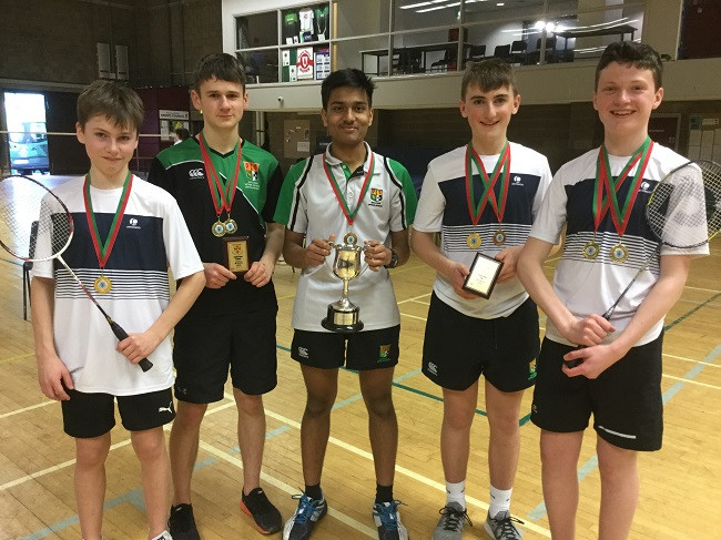 Junior Boys Cup Div 2 winners 2020