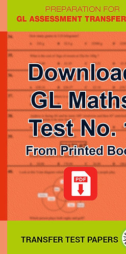 GL Maths Transfer Test 1
