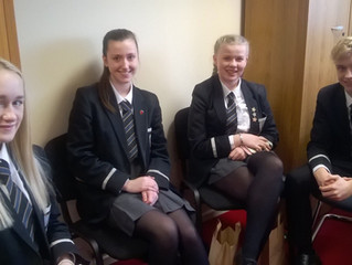 Young Enterprise group interview day