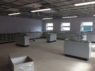 New £150,000 Science Facility Takes Shape