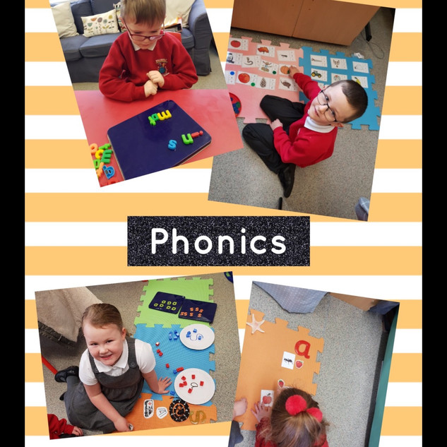 Here we are enjoying our morning phonics