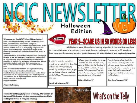 NCIC Newsletter: Halloween