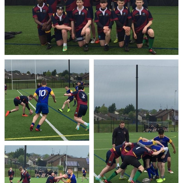 1.Congratulations to the Oakgrove College Under 15 Rugby Team who finished runners-up in the Magherafelt Sevens Tournament. Great performances from all and a proud coach, Mr O'Connor.