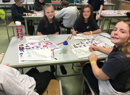 P6 Pupils Enjoy a Taste of Life in St Benedict's College