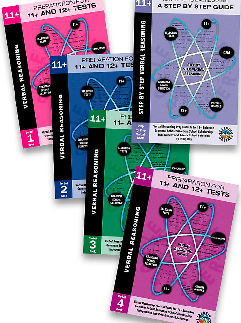 11+ Verbal Reasoning 5 Book Bundle