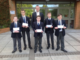 Poetry Competition Winners at the County Show