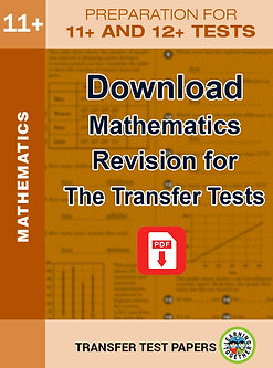 Mathematics Preparation – Ideal for both AQE & GL Tests (Download)