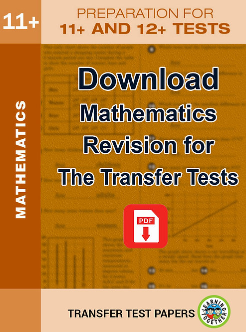 Download Mathematics practice for the AQE Transfer Test and the GL Mathematics Transfer Test