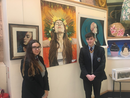 Magherafelt Post Primary School Exhibition at the Bridewell!