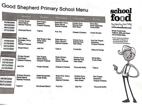 Good Shepherd Primary School Menu