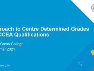 CCEA Centre Determined Grades Presentation