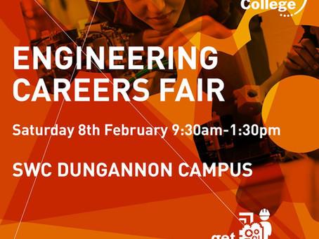 Engineering Careers Fair 8th Feb 2020