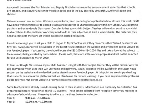 School Closure Information