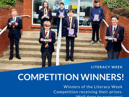 Literacy Week Competition Winners!