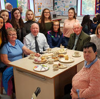 Thank you! Students organised afternoon tea for the assisted pilgrims from our Lourdes pilgrimage.