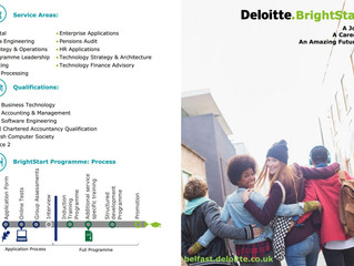 Deloitte Brightstart Programme Recruitment