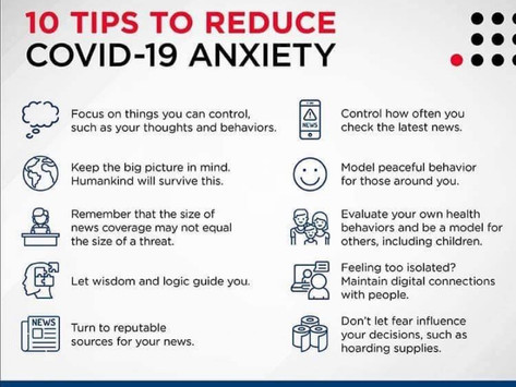 Tips for minding your Mental Health
