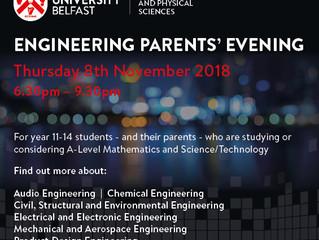Queen's Engineering Parents' Evening