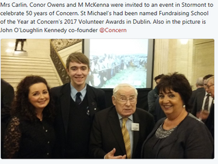 Celebrating 50 Years of Concern at Stormont