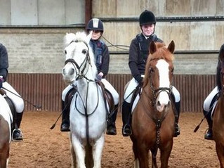 Equestrian Team Wins Intermediate Cup