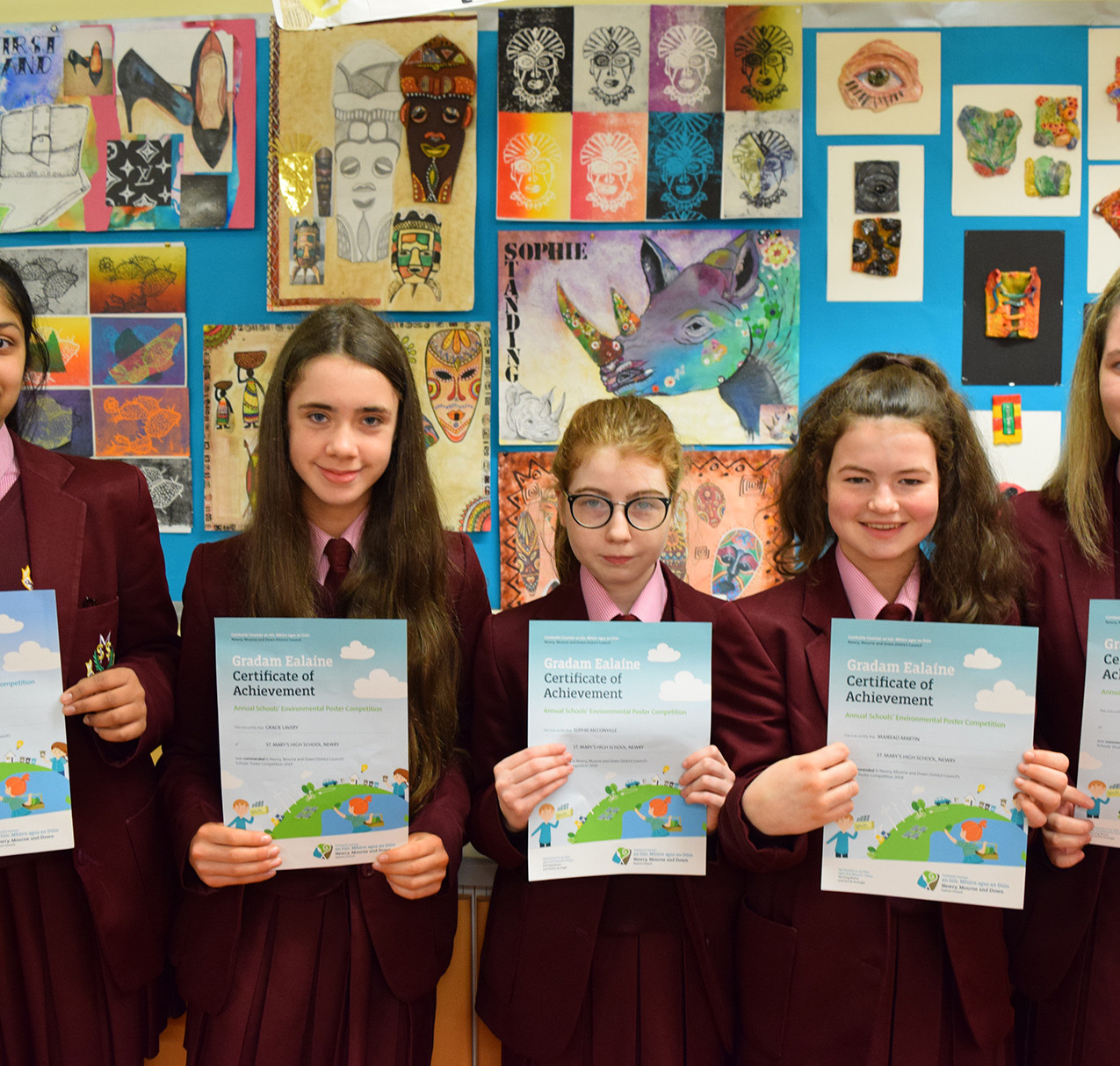 Environmental Poster Competition Winners