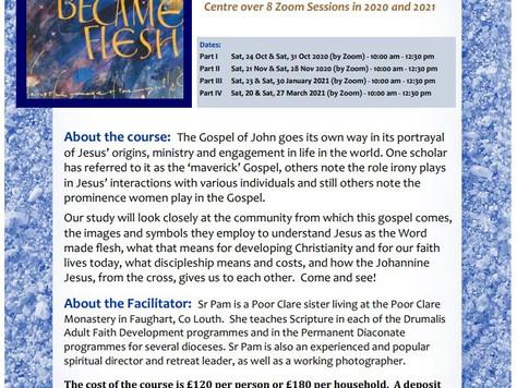 Gospel of John (by Zoom)