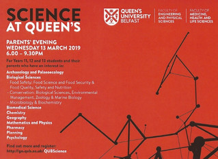 Science At Queen's Parents' Evening