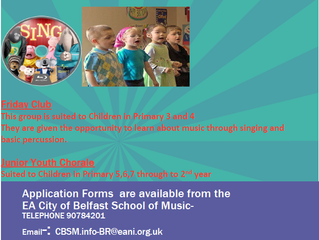 Opportunities for Young Children to Learn about Music Through Singing