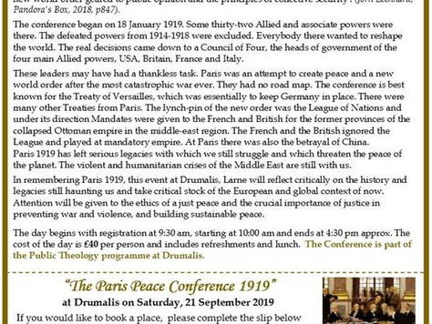 The Paris Peace Conference 1919