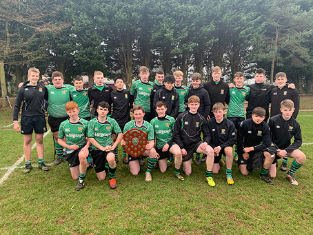 Rugby – 3rd XV retain the Plate