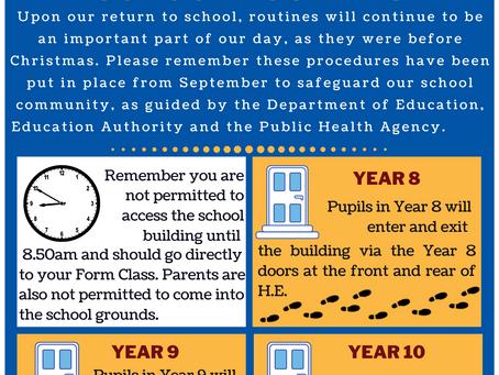 School Restart Countdown: 4 days to go!