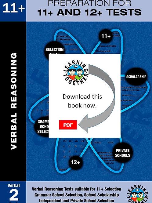Preparation for 11+ Exams: Book 2 - Verbal Reasoning (Download)