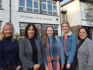 St. Colm's Top Performing Pupils