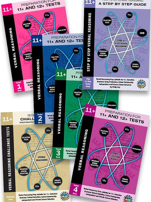 11+ Verbal Reasoning 6 Book Bundle