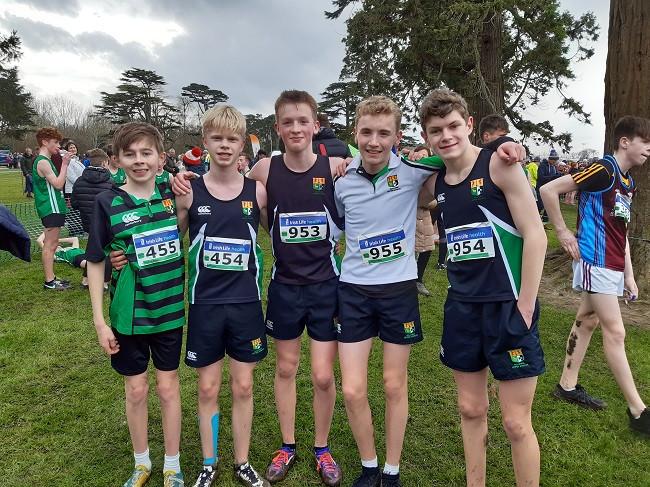 junior boys cross country team