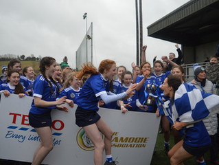 Mrs Devlin hails St Colm's girls on winning All-Ireland