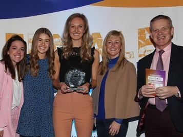 Female Sports Forum Leadership Award for Mrs Hillis