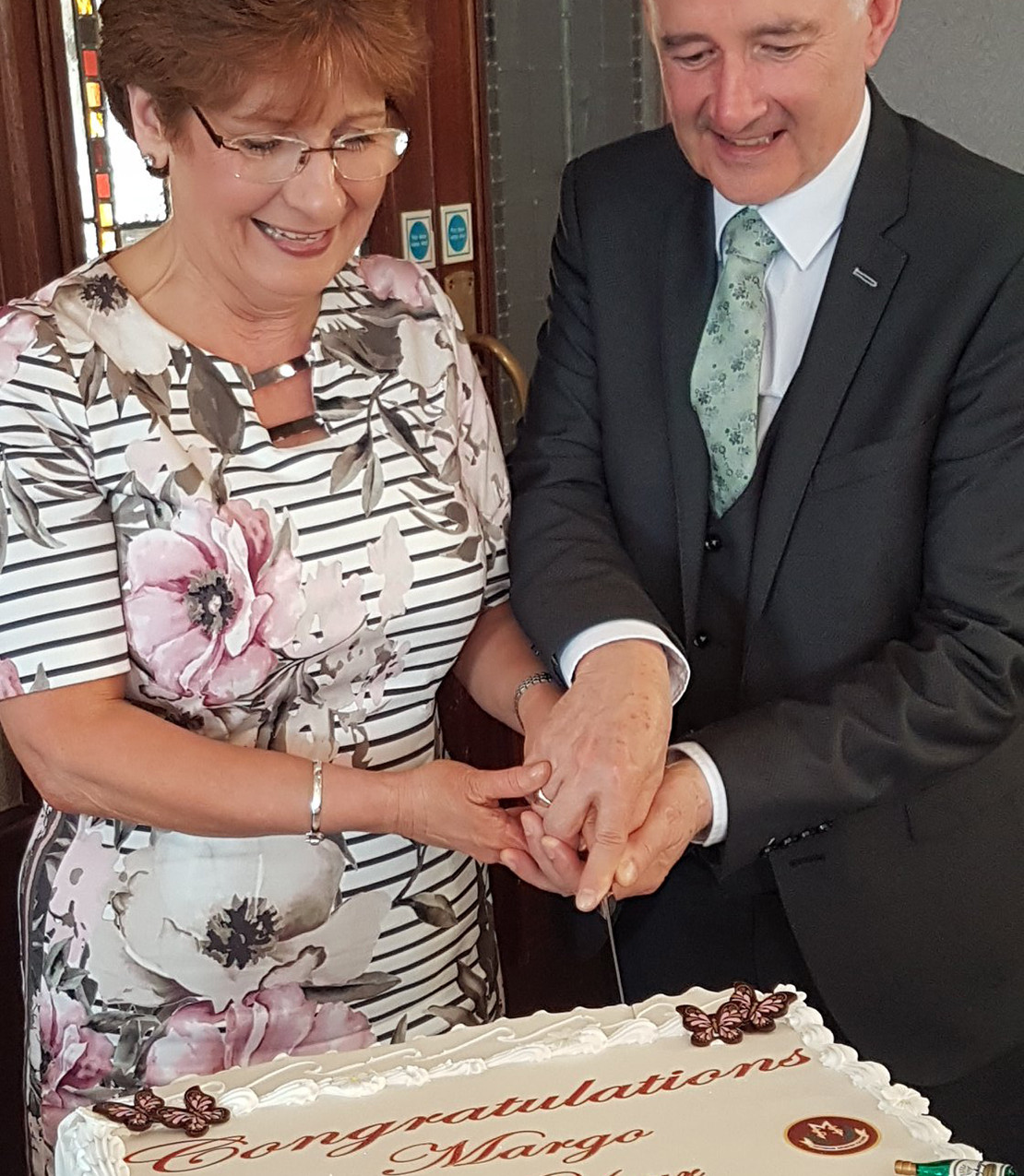 Mrs Cosgrove's Retireement  Celebrations