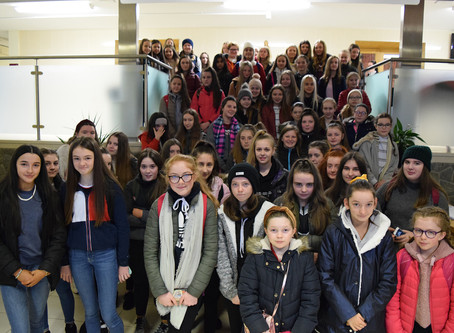 Year 9 and 10 Trip to Belfast