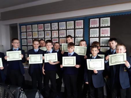 8U Outstanding Achievements