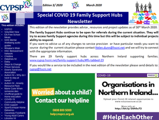 Special Family Support Hub Newsletter