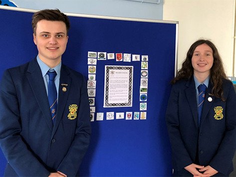 Online mass concludes school year at Loreto College