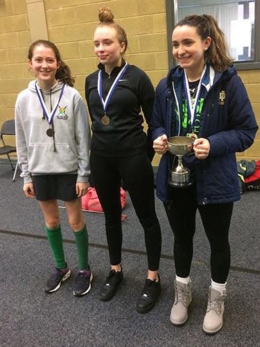 Womens Foil Trophy Winners