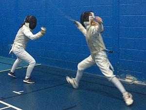 Fencing: Sullivan at Round 4 of the NI Junior Foil Series