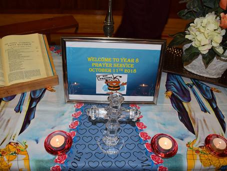 Year 8 Prayer Service