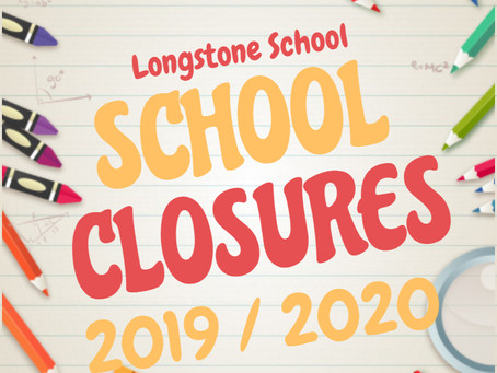 School Closures - 2019/20 Important Dates