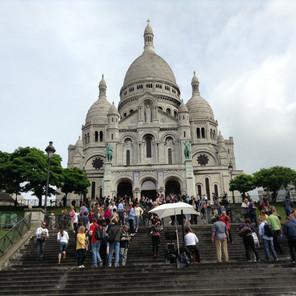 French Trip Sacre Coeur Basilica Paris.J
